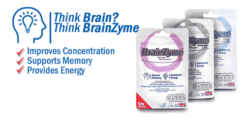 Brainzyme Brain Food Supplement Cognitive Enhancer Nootropics