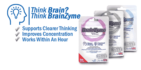 brainzyme, a UK made naturally sourced brain food supplement