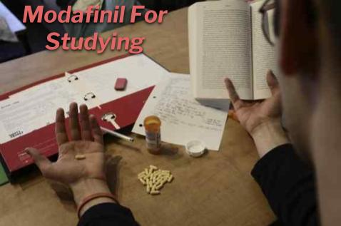 Why are students using modafinil?
