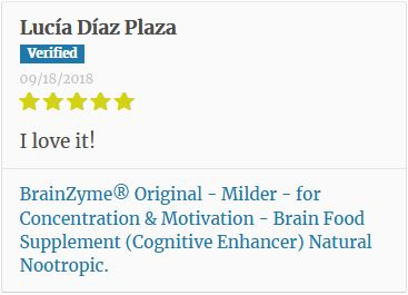 BrainZyme Original Customer Review 2