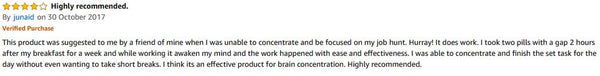 Amazon Review 3 for BrainZyme Original