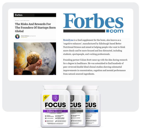 Brainzyme featured in Forbes