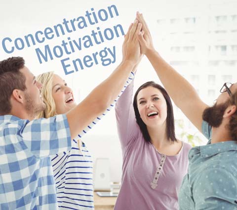 BrainZyme Professional can help increase motivation to get the task done.