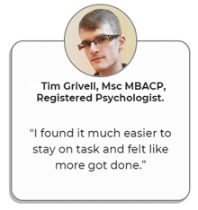 Psychologist Tim Grivell's review of BrainZyme