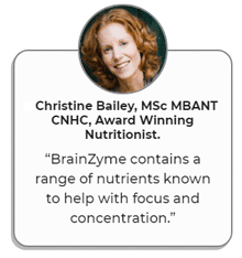 Nutritionist Christine Bailey's review of BrainZyme