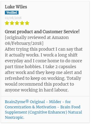2nd BrainZyme® Review from a working professional.