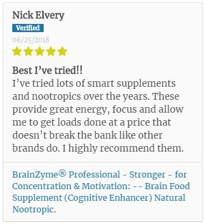 Another BrainZyme® Review from a Working Professional