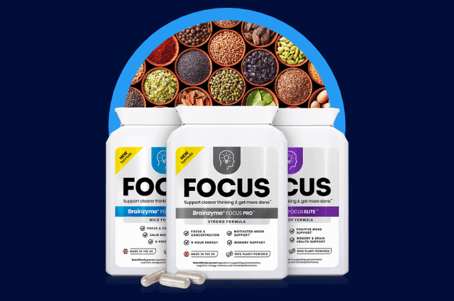 Brainzyme Focus (3-in-1) Set™ is a range of supplements that can help support your mood.