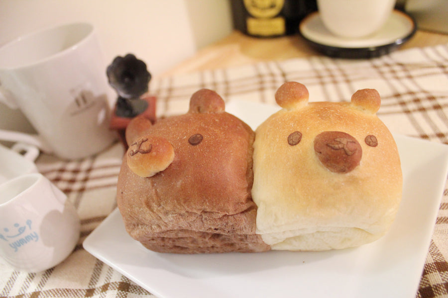 Mini Cream Filled Bread <small>(BEAR shape: 6pcs)</small>/ <br><small><small>くまクリームちぎりパン</small></small>