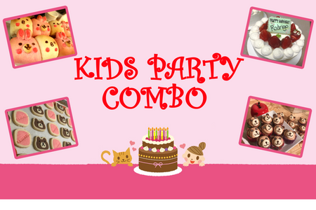 Kids Party Combo/ <br><small><small>キッズパーティーセット</small></small>