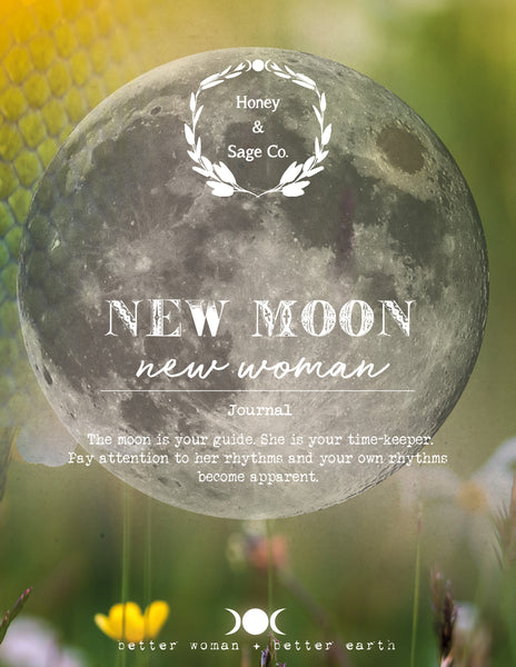 Sage Woman Journal: June Moon 2017