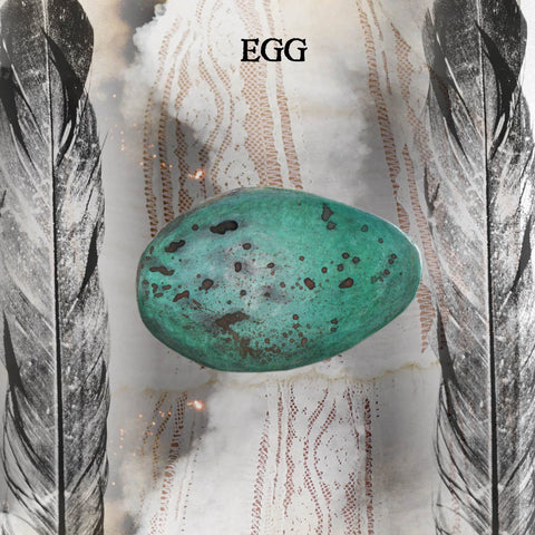Egg--the Liminal Darkness for Potential