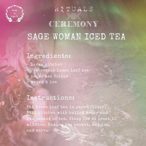 Honey & Sage Co. Iced Tea Recipe