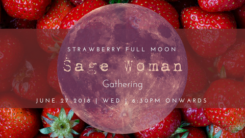 Honey & Sage Co. Strawberry Full Moon Women's Gathering