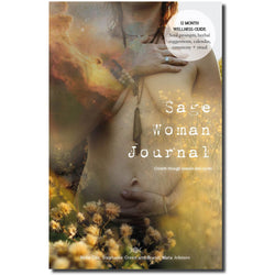 Sage Woman Journal: 12 Month Guide Through Seasons + Cycles, Journal - Honey & Sage