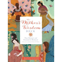 Mother's Wisdom Deck:A 52-Card Oracle Deck with Guidebook, Book - Honey & Sage