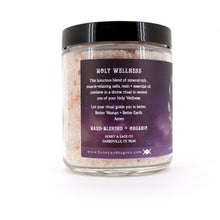 Load image into Gallery viewer, I Am Holy Salt Soak, Bath Salts - Honey & Sage