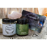 Holy Wellness Care Package (12 Month Subscription), Care Package - Honey & Sage