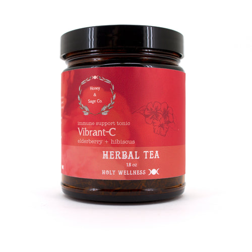 Herbal Tea: Vibrant-C Immune Support Tonic, Tea - Honey & Sage