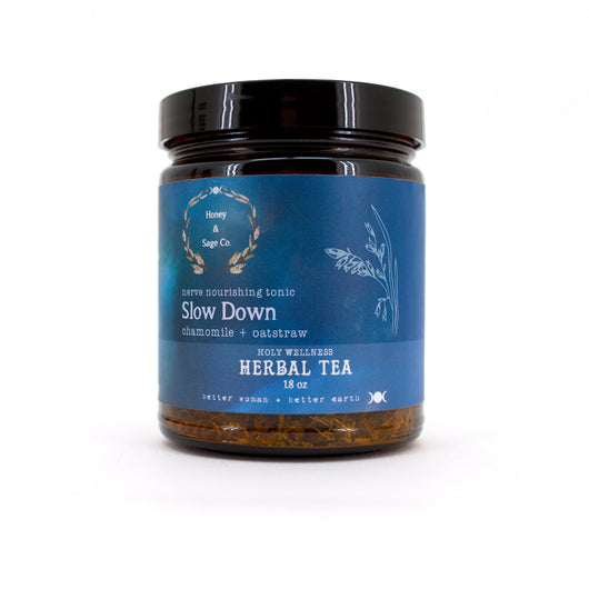 Herbal Tea: Slow Down Nerve Nourishing Tonic
