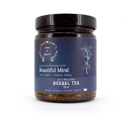 Herbal Tea: Beautiful Mind Brain Nourishing Tonic, Tea - Honey & Sage
