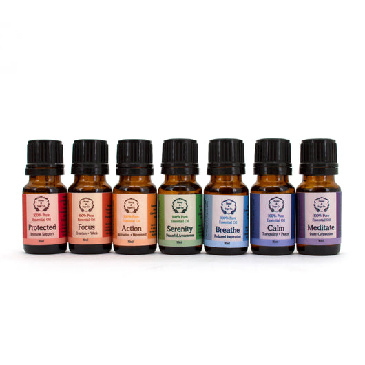 Essential Oil: Chakra Aromatherapy Collection, Essential Oil - Honey & Sage