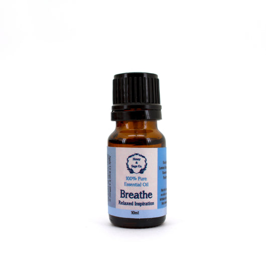 Essential Oil: Breathe Aromatherapy, Essential Oil - Honey & Sage