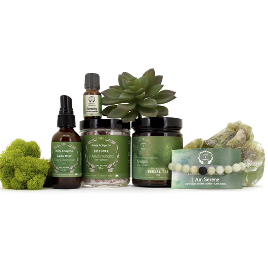 Heart Collection: Unconditional Love Care Package, Energy Collection - Honey & Sage
