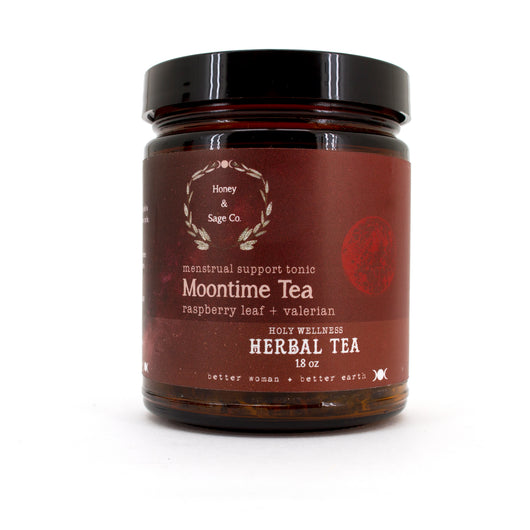 Herbal Tea: Moon Time Menstrual Support Tonic, Tea - Honey & Sage