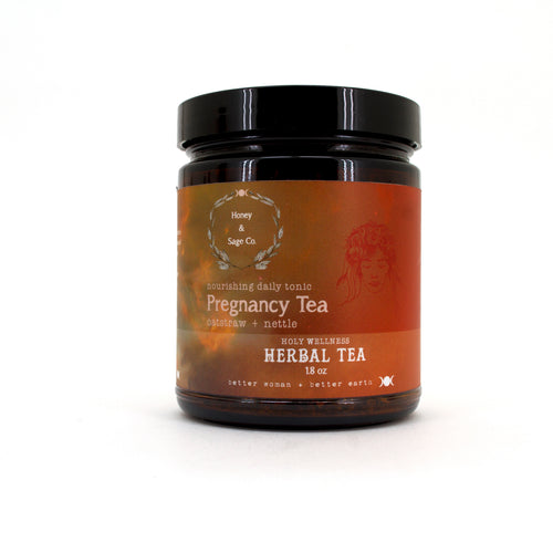 Herbal Tea: Honey Womban Pregnancy, Tea - Honey & Sage