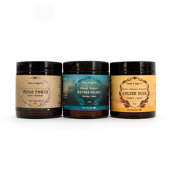 Herbal Wellness Trio: Stress, Immune + Mood Support, Tea - Honey & Sage