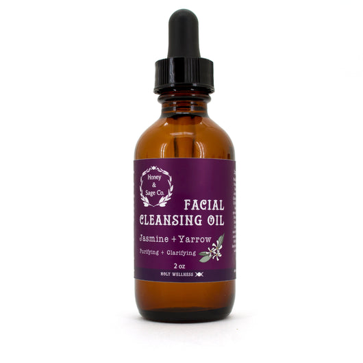 Facial Cleansing Oil,  - Honey & Sage