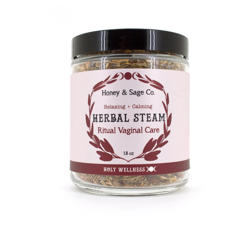 Herbal Steam: Ritual Vaginal Care, Herbal Steam - Honey & Sage