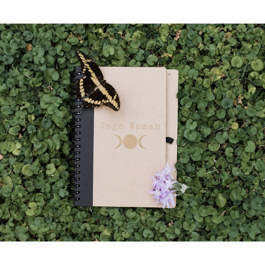 Sage Woman Notebook-Recycled Paper