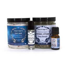 Respiratory Support Care Package, Care Package - Honey & Sage