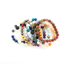 Load image into Gallery viewer, Mala Bracelet: I Am Sovereign, Mala - Honey & Sage