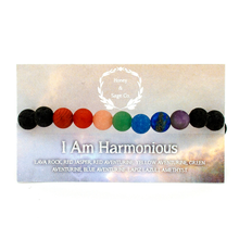 Load image into Gallery viewer, Mala Bracelet: I Am Harmonious, Mala - Honey & Sage
