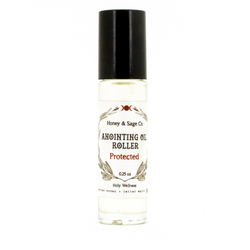 Anointing Oil: Protected, Anointing Oil - Honey & Sage