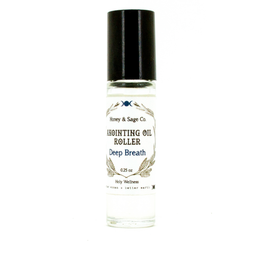 Anointing Oil: Deep Breath, Anointing Oil - Honey & Sage