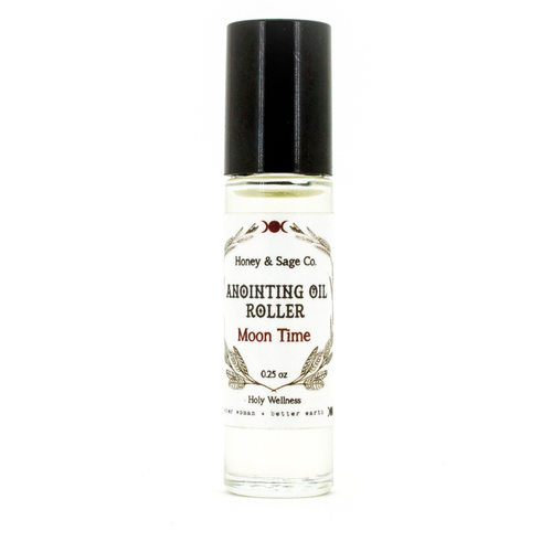 Anointing Oil: Moon Time, Anointing Oil - Honey & Sage