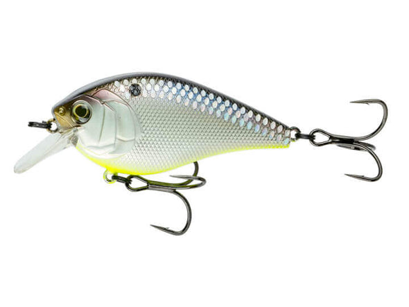 6th Sense Fishing Crush 100 Silent Shad Treuse Scales