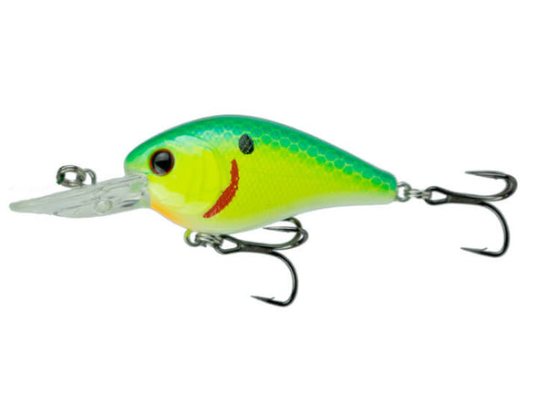 6th Sense Fishing Crush Mini 25MD Crankbait Blue Treuse Shad