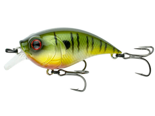 6th Sense Fishing Curve Finesse Squarebill Neon Sunfish