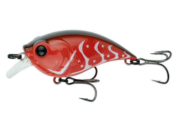 6th Sense Fishing Curve Finesse Squarebill Rambo Red