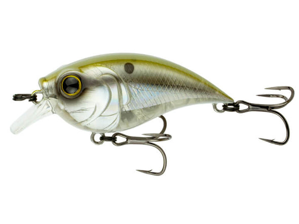6th Sense Fishing Curve Finesse Squarebill Shad Burst