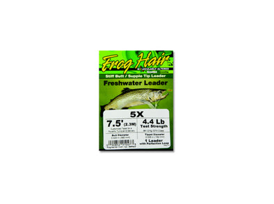Frog Hair Stiff Butt Supple Tip Freshwater Leader