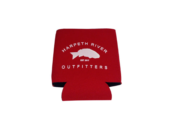 Harpeth River Outfitters Koozie Maroon