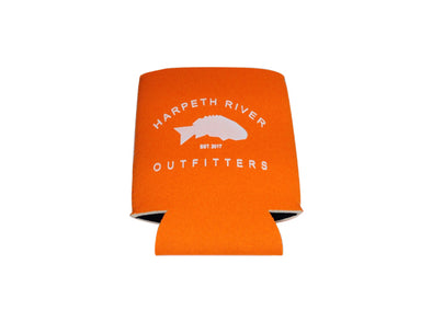 Harpeth River Outfitters Koozie Bright Orange