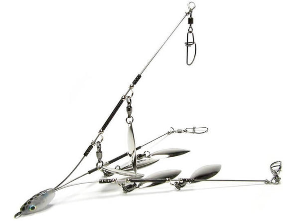 Hog Farmer Bait Company Mini Umbrella Rig 3 Wire 6 Blade