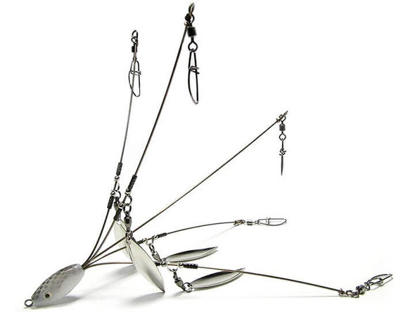 Hog Farmer Bait Company Mini Umbrella Rig 5 Wire 4 Blade
